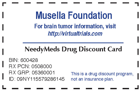 Musella Foundation Drug Discount Card